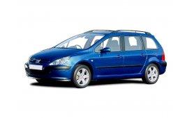 Каркасные шторки на Peugeot 307 Универсал 2001 - 2008