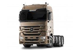 Каркасные шторки на Mercedes Actros Грузовой MP3 2008 - 2015