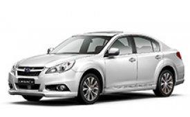 Каркасные шторки на Subaru Legacy(Liberti) Седан 2009 - 2015