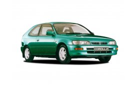Каркасные шторки Corolla  Хетчбэк 3 дв. E100 1991 - 2000