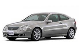 Каркасные шторки на Mercedes-Benz C-klasse Хетчбэк 3 дв. W203 2000 - 2008