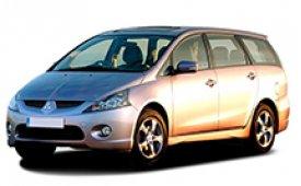 Каркасные шторки на Mitsubishi Grandis Минивэн 5-ти местный 2003 - 2010