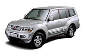 Каркасные шторки на Mitsubishi Pajero Внедорожник-Кроссовер 1999 - 2006