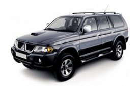 Каркасные шторки на Mitsubishi Pajero Sport Внедорожник-Кроссовер 1996 - 2008
