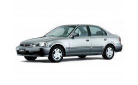 Каркасные шторки на Honda Civic Седан 1995 - 2002