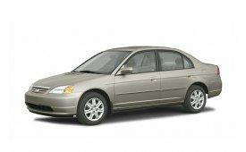 Каркасные шторки на Honda Civic Седан Левый руль 2000 - 2006
