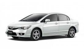 Каркасные шторки на Honda Civic Седан 2005 - 2011