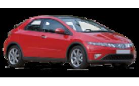 Каркасные шторки на Honda Civic Хетчбэк 5 дв. 2005 - 2011