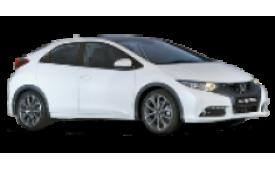 Каркасные шторки на Honda Civic Хетчбэк 5 дв. 2011 - 2015