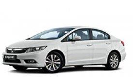 Каркасные шторки на Honda Civic Седан 2011 - 2015