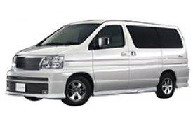 Каркасные шторки на Nissan Elgrand  Минивэн E50 1997 - 2002