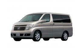 Каркасные шторки на Nissan Elgrand  Минивэн E51 2002 - 2010