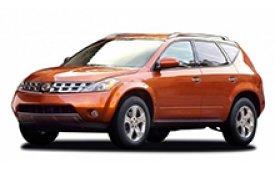 Каркасные шторки на Nissan Murano Внедорожник-Кроссовер Z50 2002 - 2008