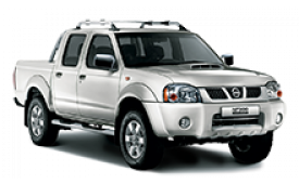 Каркасные шторки на Nissan NP 300 Пикап D22 2008 - 2015