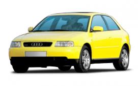 Каркасные шторки на Audi A3 Хетчбэк 3 дв. 8L 1996 - 2003