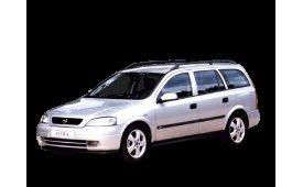 Каркасные шторки на Opel Astra Универсал G 1998 - 2004