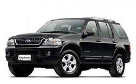 Каркасные шторки на Ford Explorer Внедорожник-Кроссовер 2001 - 2005