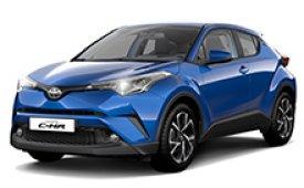 Каркасные шторки на Toyota C-HR Внедорожник-Кроссовер 2016 - н.в.
