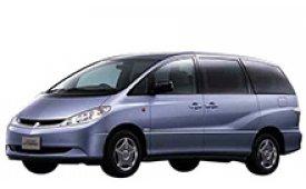 Каркасные шторки на Toyota Estima/Previa Минивэн XR30/XR40 2000 - 2005