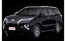 Каркасные шторки на Toyota Fortuner Внедорожник-Кроссовер AN160 2015 - н.в.