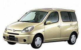 Каркасные шторки на Toyota Funcargo Хетчбэк 5 дв. XP20 1999 - 2005