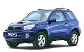 Каркасные шторки на Toyota RAV4 Внедорожник-Кроссовер 3 дв. CA20 2000 - 2005