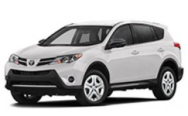 Каркасные шторки на Toyota RAV4 Внедорожник-Кроссовер XA40 2013 - 2019