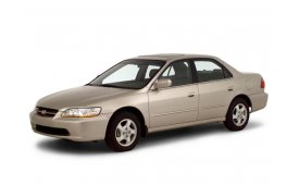 Каркасные шторки на Honda Accord Седан (Правый руль) 1998 - 2003