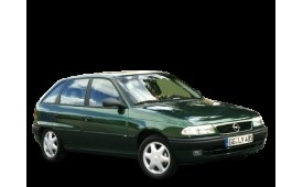 Каркасные шторки на Opel Astra Хетчбэк 5 дв. F 1994 - 1998