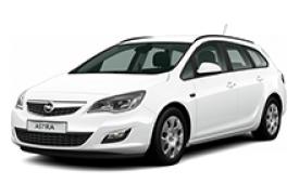 Каркасные шторки на Opel Astra Универсал J 2009 - 2015