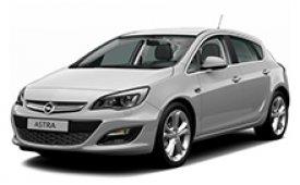 Каркасные шторки на Opel Astra Хетчбэк 5 дв. J 2009 - 2015