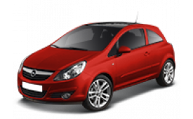 Каркасные шторки на Opel Corsa  Хетчбэк 3 дв. D 2006 - 2014