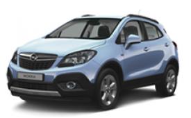 Каркасные шторки на Opel Mokka Внедорожник-Кроссовер 2012 - 2015