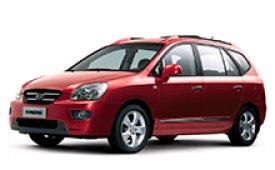 Каркасные шторки на Kia Carens Минивэн 2006 - 2012