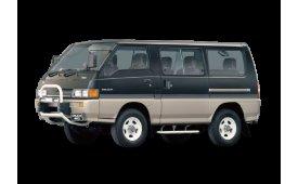 Каркасные шторки на Mitsubishi Delica (Express) Минивэн 1986 - 1999