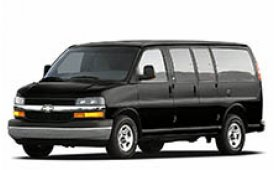 Каркасные шторки на Chevrolet Express Фургон 2002 - н.в.