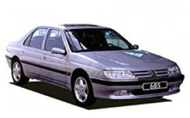 Каркасные шторки на Peugeot 605 Седан 1989 - 1999