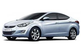 Каркасные шторки на Hyundai Avante Седан 2010 - 2015