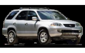 Каркасные шторки на Acura MDX Внедорожник-Кроссовер 2000 - 2006