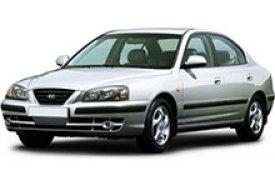 Каркасные шторки на Hyundai Elantra Седан 2000 - 2009