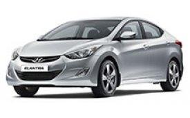 Каркасные шторки на Hyundai Elantra Седан 2010 - 2016