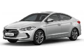 Каркасные шторки на Hyundai Elantra Седан 2015 - 2021