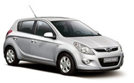 Каркасные шторки на Hyundai i20 Хетчбэк 5 дв. 2008 - 2012