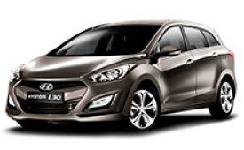 Каркасные шторки на Hyundai i30 Универсал 2011 - 2017