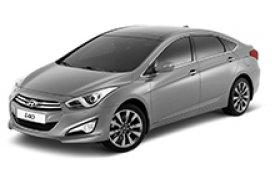 Каркасные шторки на Hyundai i40 Седан 2011 - 2017