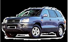 Каркасные шторки на Hyundai Santa Fe Внедорожник-Кроссовер 1999 - 2006