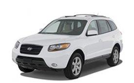 Каркасные шторки на Hyundai Santa Fe Внедорожник-Кроссовер 2005 - 2012