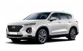 Каркасные шторки на Hyundai Santa Fe Внедорожник-Кроссовер 2018 - н.в.