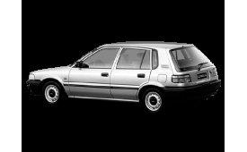 Каркасные шторки Corolla  Хетчбэк 5 дв. E90 1987 - 1993