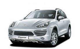 Каркасные шторки на Porsche Cayenne Внедорожник-Кроссовер 958 2010 - 2018